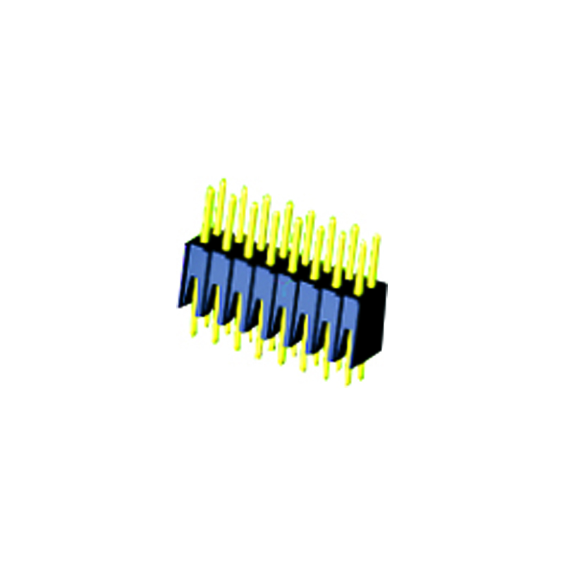 2.54mm Pin Header H=7.4 Double Row Straight Type