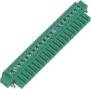 3.50mm Pluggable Terminal Blocks Female Vertical Type with Ear