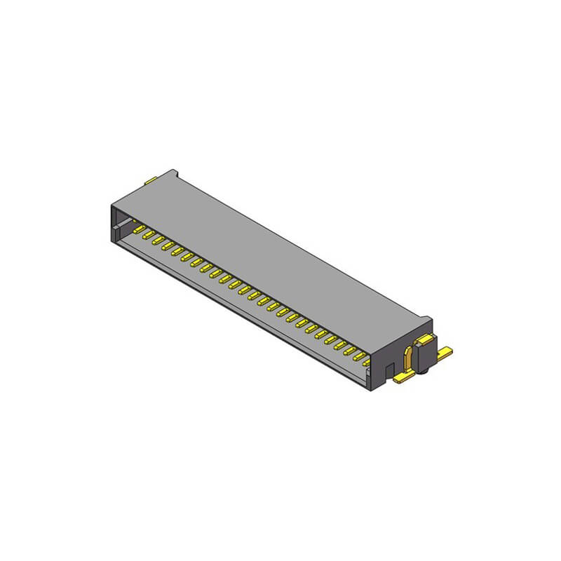1.27mm SDC Male H=8.2 Right Angle SMT Type