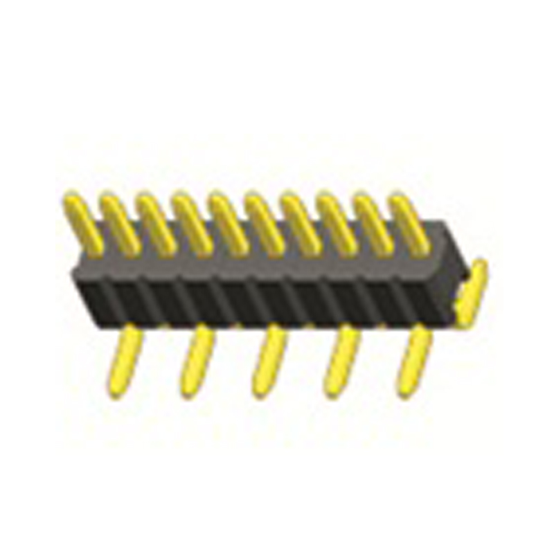 1.27mm Pin Header H=1.0 Single Row SMT Type