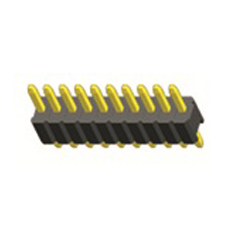 1.27mm Pin Header H=1.0 Single Row  Straight Type