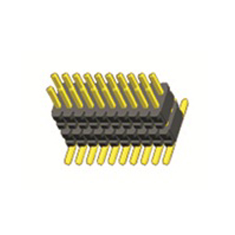 0.8mm Pin Header H=1.4 Dual body Two Rows SMT Type