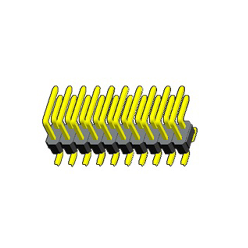 2.0mm Pin Header H=2.0 Right Angle SMT Type