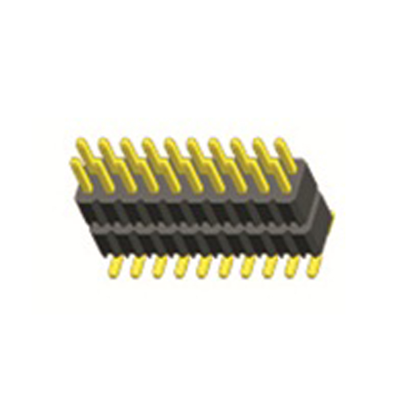 2.54mm Pin Header H=2.5 Double Row SMT Type