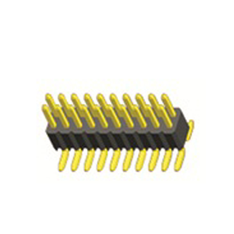 2.54mm Pin Header H=2.0 Double Row SMT Type
