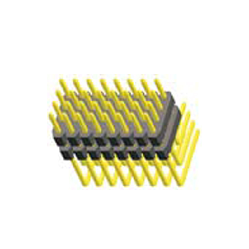 2.0mm Pin Header H=2.0 Four Row Right Angle Type