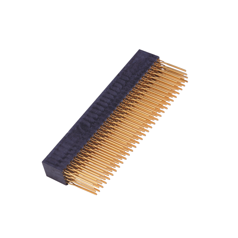 2.54mm PC104 H=11.0mm DIP=3.4 Dual Row Straight Type Press Fit